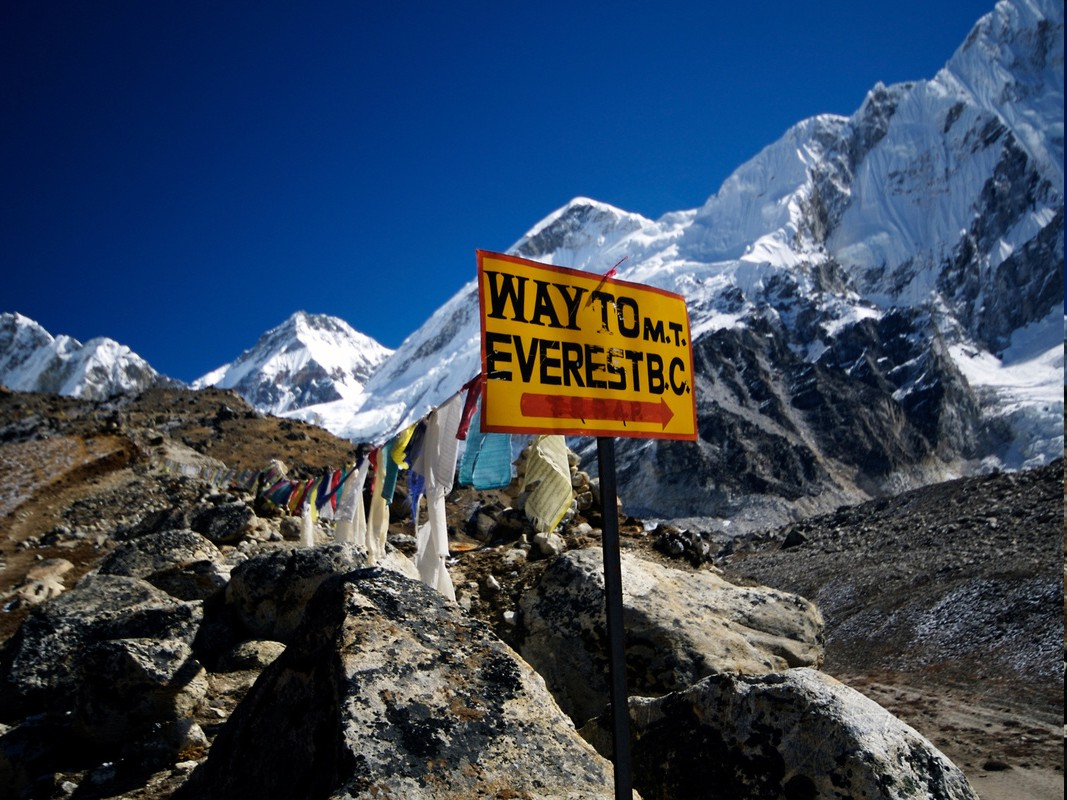 Mt Everest trekking